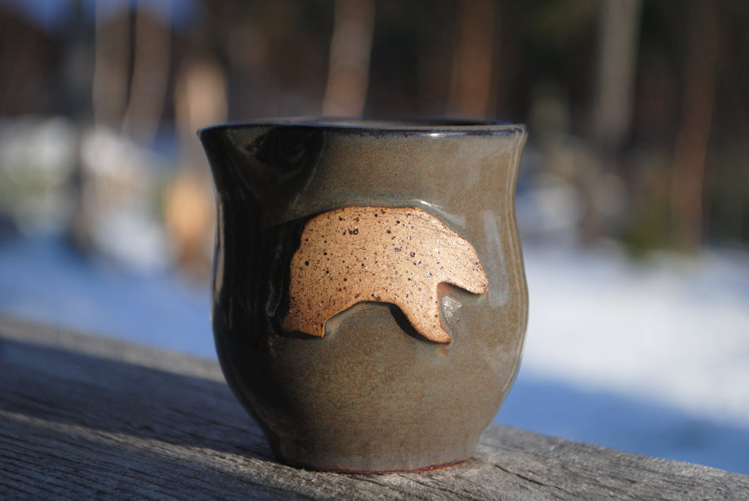 Ironstone Bear Mini Pitcher