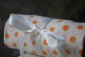 Pink Floral Gift Wrap
