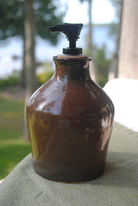Ironstone Soap Dispenser