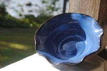 Load image into Gallery viewer, Indigo Fluted Bowl