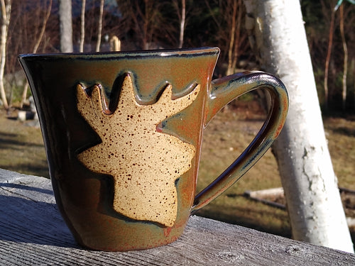 Buck's Head Ironstone Mug