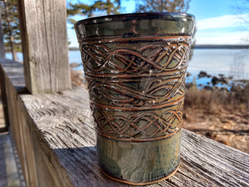 Ironstone Pencil cup