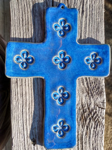 Indigo Wall Cross
