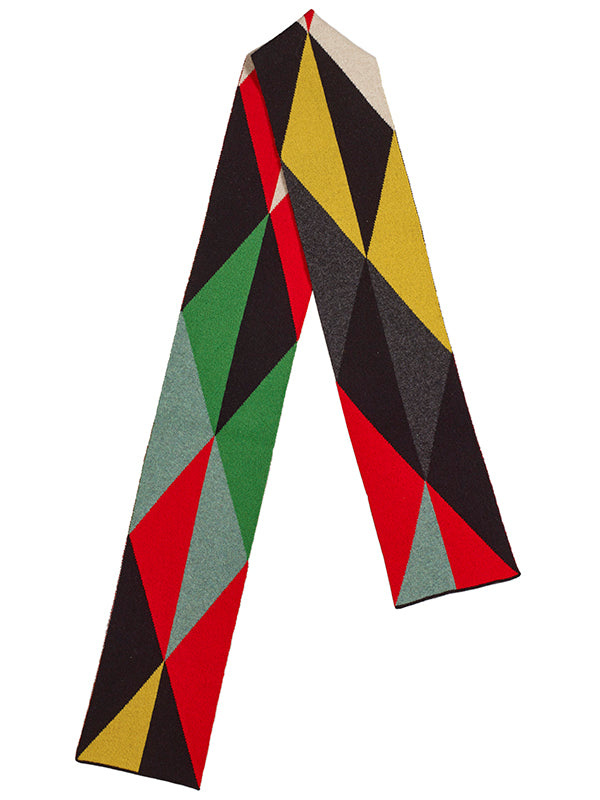 Small Triangles Scarf Multicolour Sample Sale