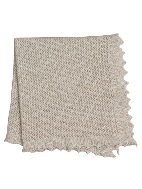 Felted Lace Neckerchief Silverbirch Sample Sale