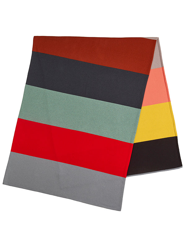 Colourblock Cashmere Blanket Scarf Multicolour Sample Sale
