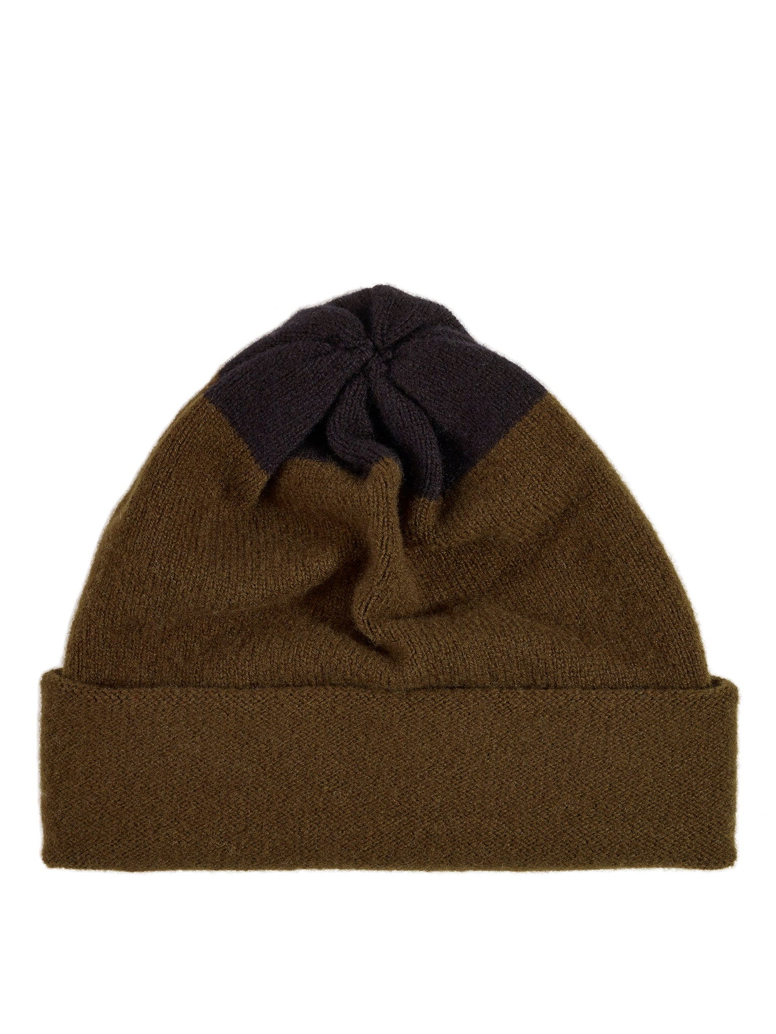 Top Spot Hat Military & Black Sample Sale