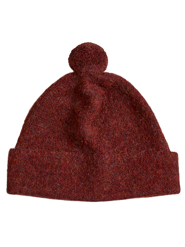 Plain Shetland hat Jasper Sample Sale