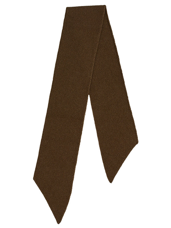 Small Plain Diagonal Scarf Military Sample Sale