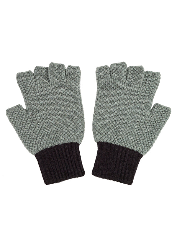 Fingerless Gloves Kintyre & Black