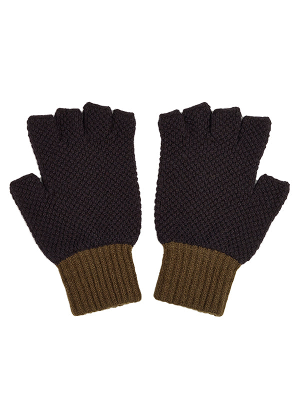 Fingerless Gloves Black & Military