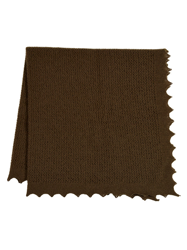 Felted Lace Square Military