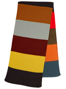 215582a1d80f2 Colourblock Brushed Blanket Scarf Multicolour