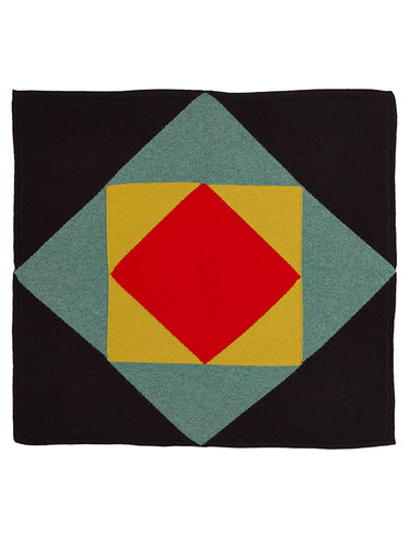 Tile Square Neckerchief Multicolour