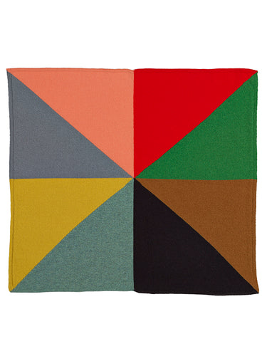 Eighths Square Neckerchief Multicolour