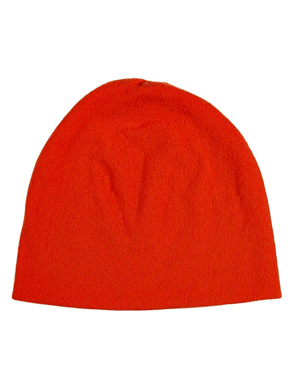 Fine Plain Hat Orange Gloss