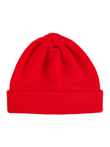 Plain Hat Scarlet-Plain Hats-Jo Gordon-Plain Hat Scarlet-Hat-Plain Hat-100% Lambswool
