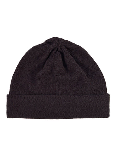 Plain Hat Black-Plain Hats-Jo Gordon-Plain Hat Black-Hat-Plain Hat-100% Lambswool