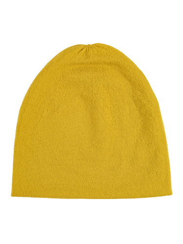 Fine Plain Hat Turmeric-Plain Hats-Jo Gordon-Fine Plain Hat Turmeric-Hat-Plain Hat-100% Lambswool