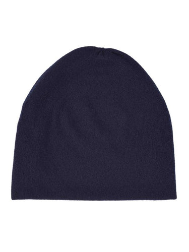 Fine Plain Hat-Plain Hats-Jo Gordon-Fine Plain Hat Navy-Hat-Plain Hat-100% Lambswool