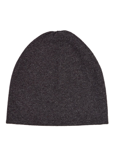Fine Plain Hat Charcoal-Plain Hats-Jo Gordon-Fine Plain Hat Charcoal-Hat-Plain Hat-100% Lambswool