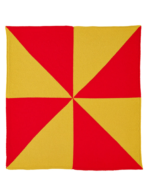 Windmill Square Neckerchief Scarlet