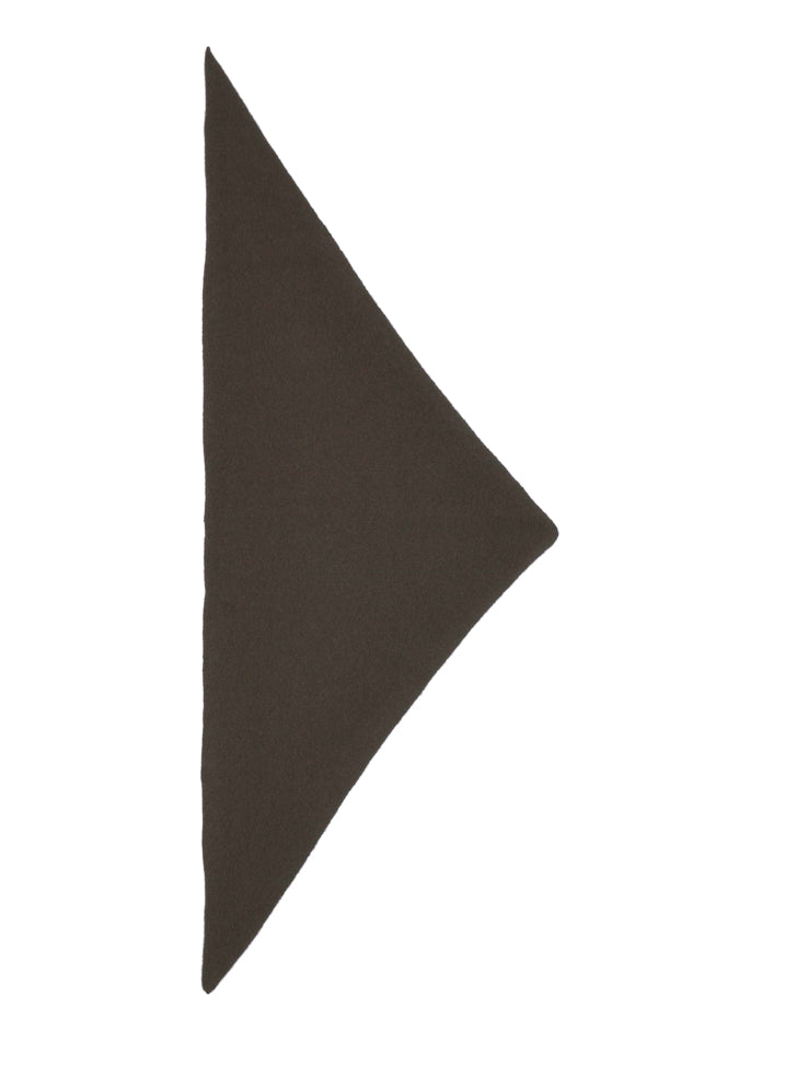 Plain Triangle Neckerchief Military
