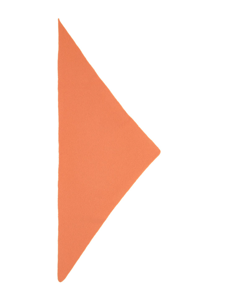 Plain Triangle Neckerchief Turmeric