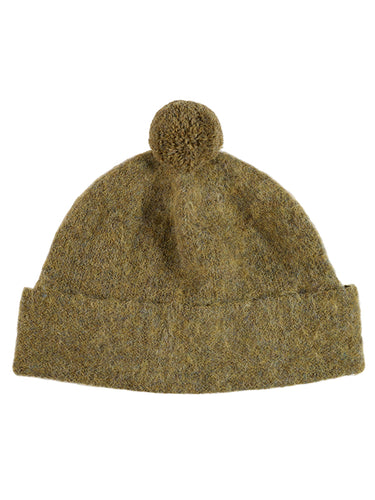 Plain Shetland Hat Heath