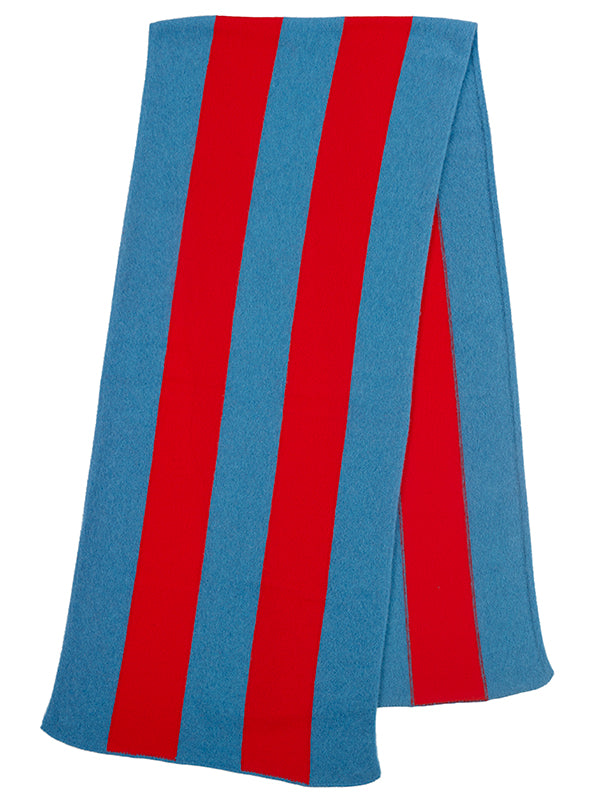 Vertical Stripe Brushed Blanket scarf Fiji & poppy