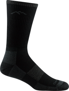 1405 - Men's  Boot Sock Full Cushion, Onyx