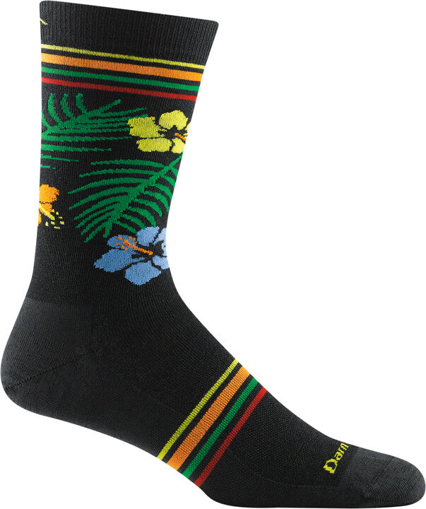 6059 - Men's Tropical Crew, Black