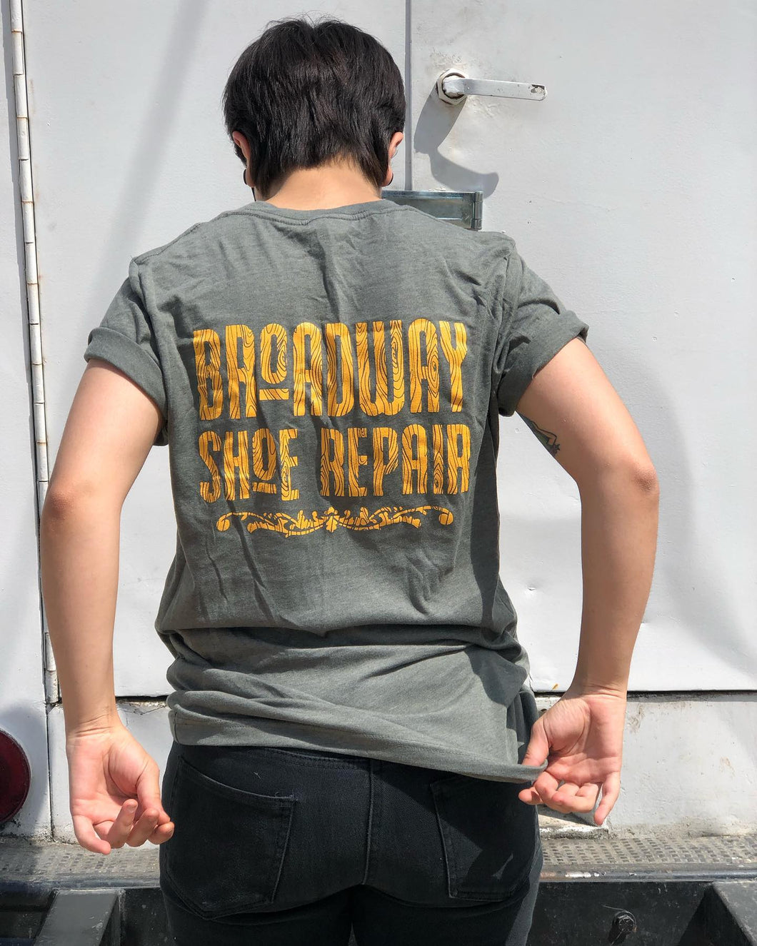 Broadway Shoe Repair Tee Shirt