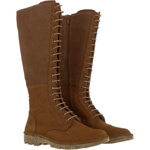 Forest Lace Up Tall Boot N5533 , Wood