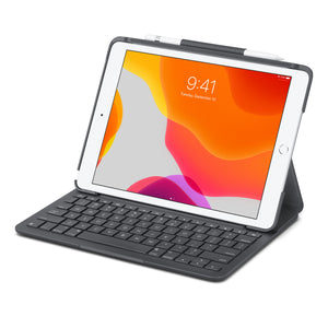 Logitech Slim Folio Keyboard Case with Bluetooth for iPad