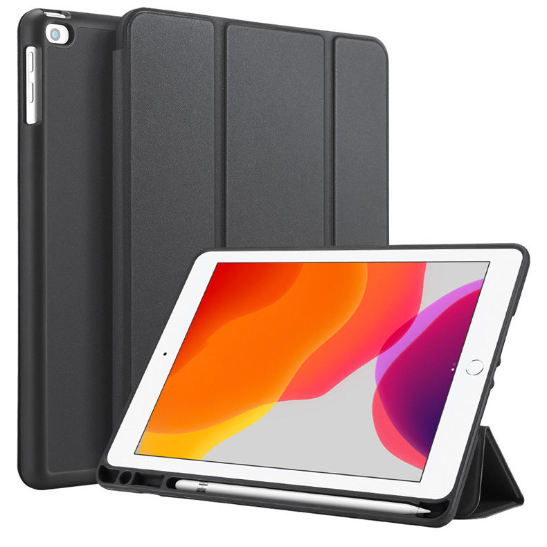 Tri-fold Leather Casing for iPad