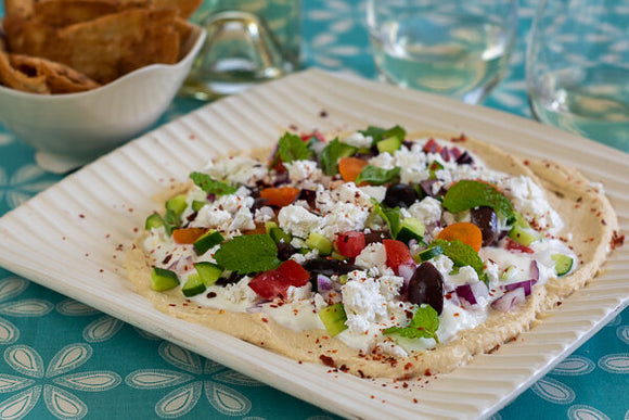 Greek Salad Dip - Janet Fletcher