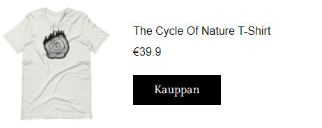 The Cycle Of Nature t-paita