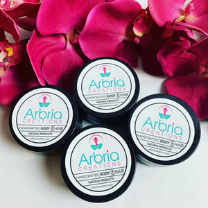 Arbria's Set of 4 Travel Whipped Body Butter