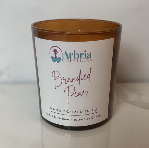 Arbria's Lux Candle - Brandied Pear