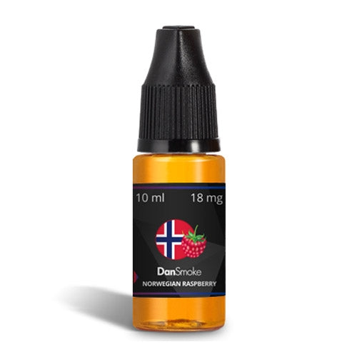 Norwegian Raspberry e-liquid (10 ml)