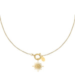 Women's Silver Rigel Star Necklace