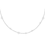 Women's Silver Amara Star Necklace
