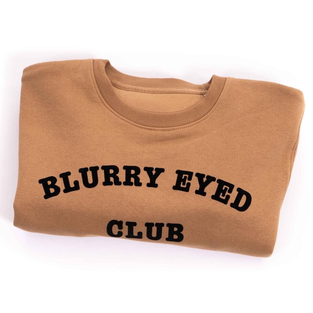 BLURRY EYED CLUB VEGAN SWEATER - Clothing sweater