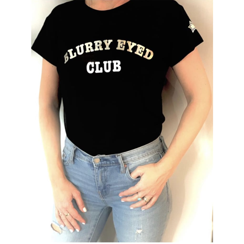 Blurry Eyed Tee - Clothing