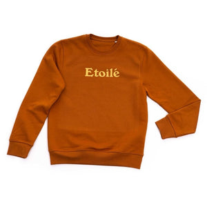 ETOILE rust vegan sweater - Clothing sweater