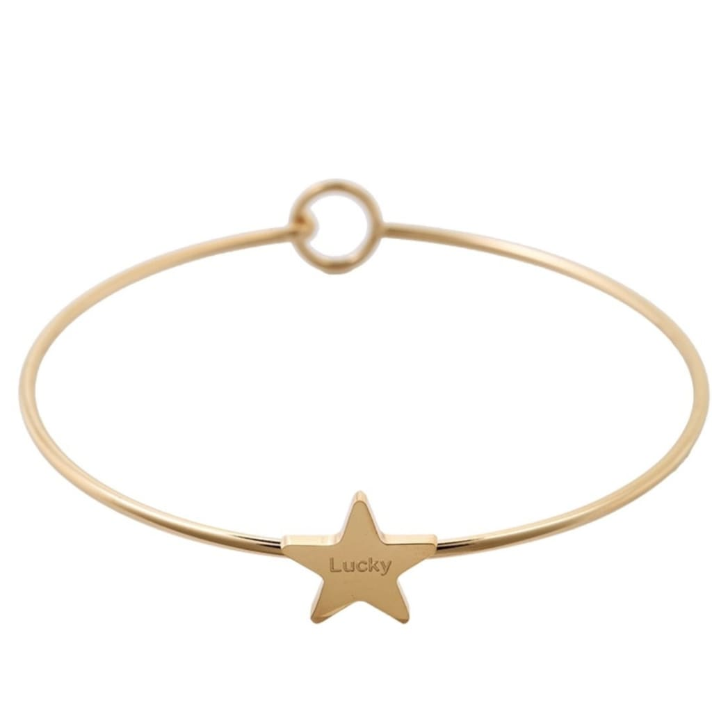 LADIES LUCKY STAR Bracelet - jewellery