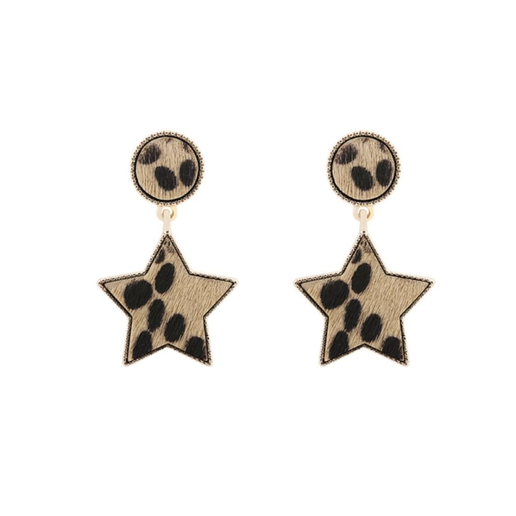 LOUIS star drop earrings - jewellery