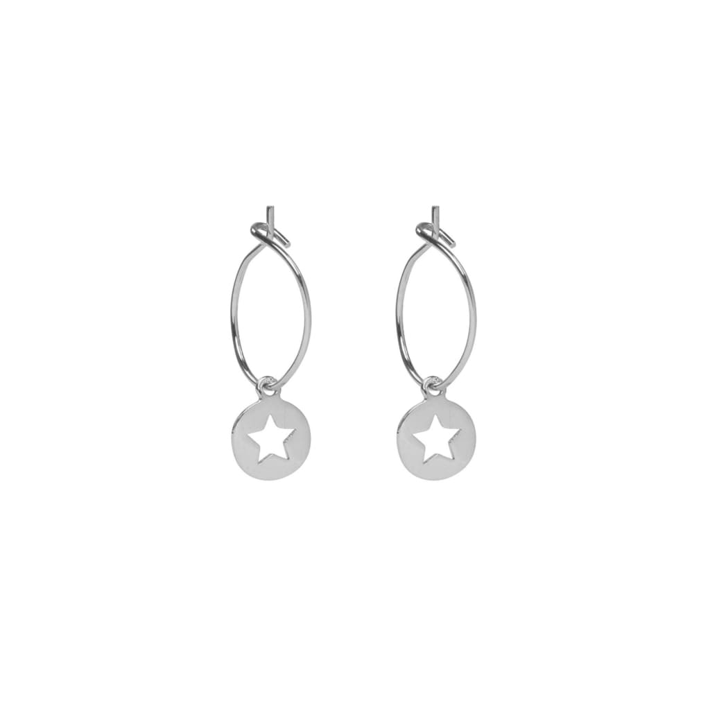 STAR CUT OUT Earrings - jewellery