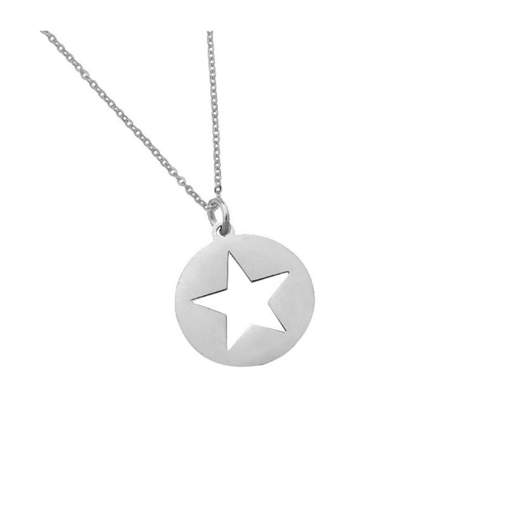 STAR CUT OUT necklace - jewellery